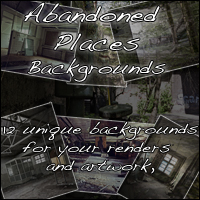 Abandoned Places - Backgrounds 2D Sedor