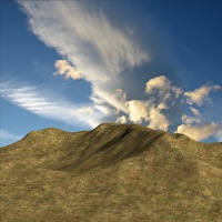 Poser Mountain 3D Models RubiconDigital