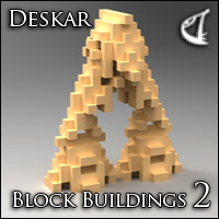 Block Building 2  Deskar