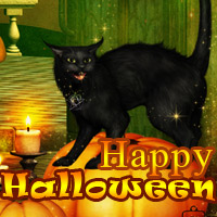 Happy Halloween 2D Graphics 3D Models Makena