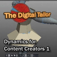 The Digital Tailors Dynamics For Content Creators Part1 Tutorials : Learn 3D Fugazi1968