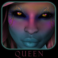 Queen 3D Figure Assets 3D Models reciecup