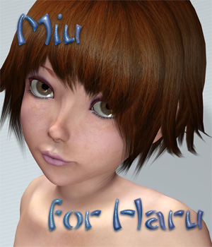 Miu for Haru 3D Models 3D Figure Assets SaintFox