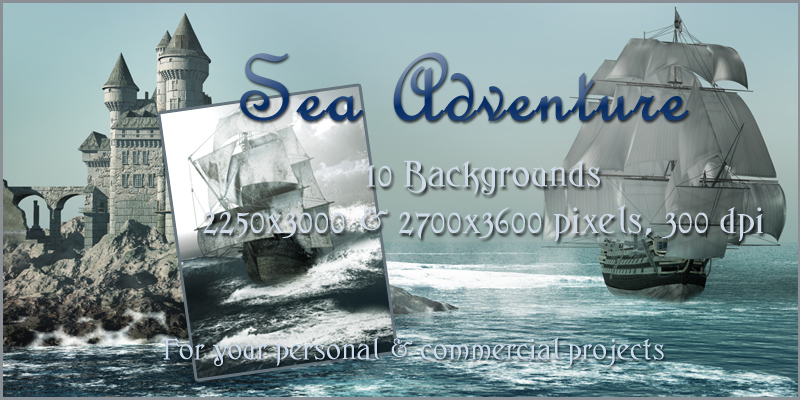 Sea Adventure Backgrounds