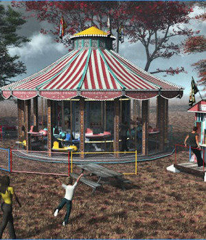 Carousel 3D Models DreamlandModels