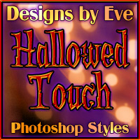 DbE-Hallowed Touch 2D 3D Models DesignsbyEve