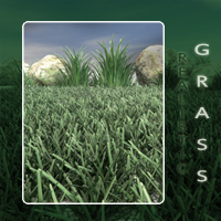 Realistic grass Themed Props/Scenes/Architecture whitemagus