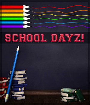 School Dayz 2D Graphics Sveva