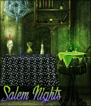 Salem Nights Background Mini Pack 2D Graphics Sveva