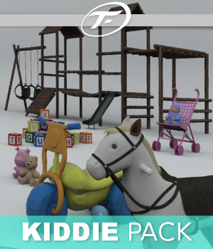 Kiddie Pack 3D Models TruForm