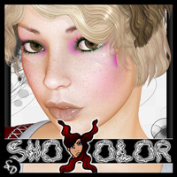 ShoXoloR for Finger Wave Bob Hair ShoxDesign