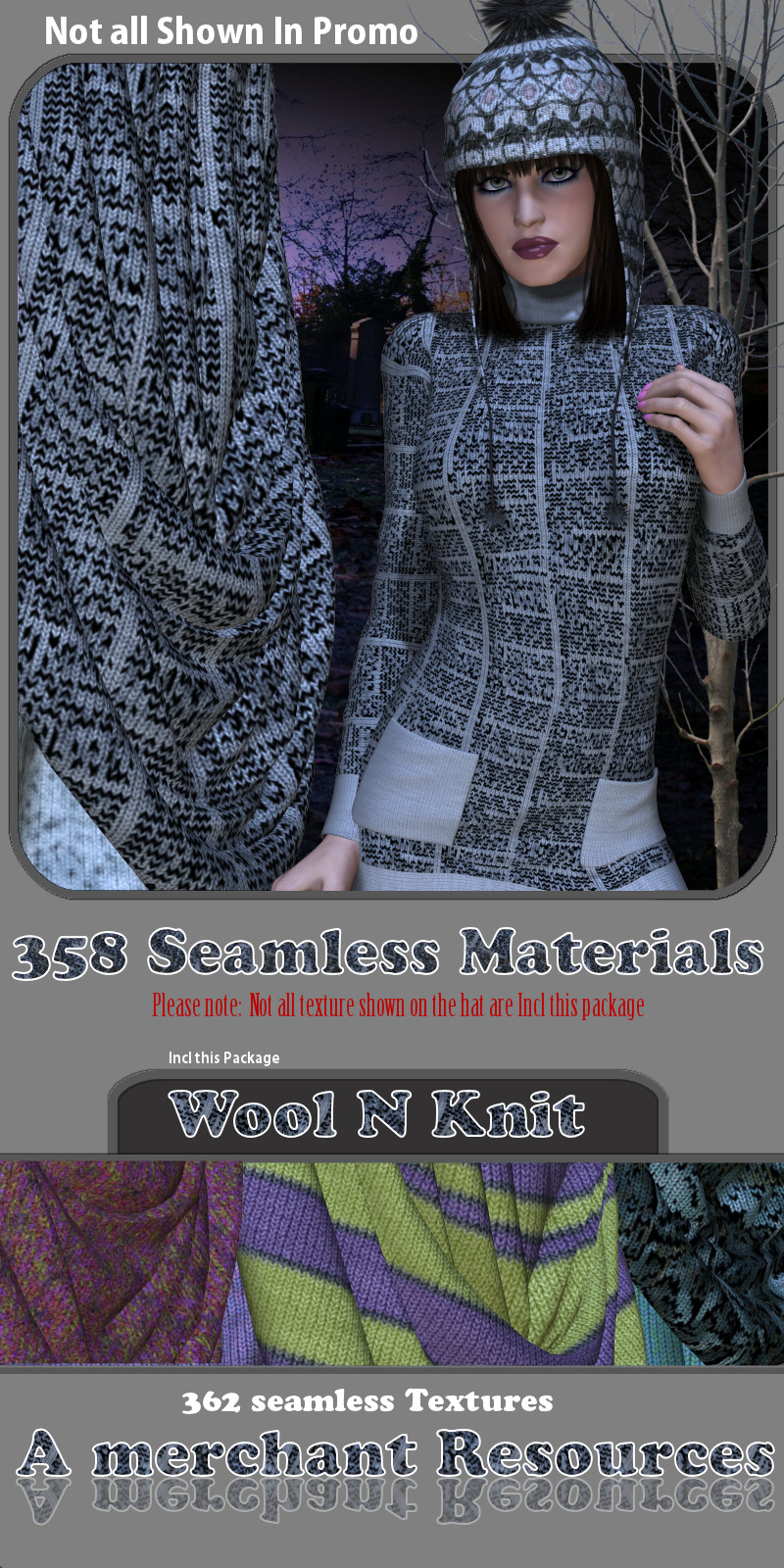 WhoolNknit materials