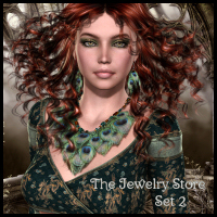 The Jewelry Store : Set 2 3D Figure Assets Propschick