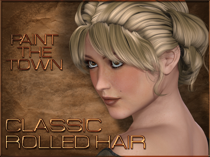 Paint the Town - Classic Rolled Hair