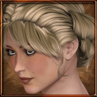 Paint the Town - Classic Rolled Hair 3D Figure Assets vyktohria