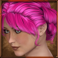 Paint the Town - Classic Rolled Hair image 4