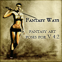Fantasy Ways 3D Figure Assets vikike176