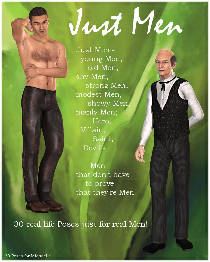 Just Men: POses for M4