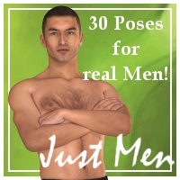 Just Men: POses for M4 3D Figure Essentials Varnayrah