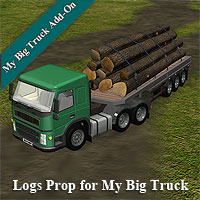 Logs for Big Truck 3D Models Simon-3D