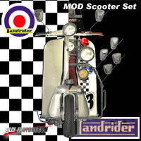 MOD Scooter Set 3D Models billy-t
