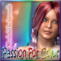 Passion For Color 2D Graphics EmmaAndJordi