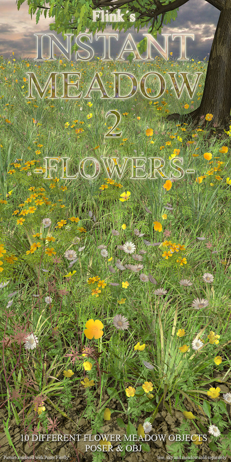Flinks Instant Meadow 2 - Flowers