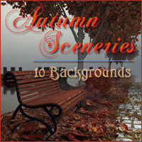 Autumn Sceneries 2D And/Or Merchant Resources Themed -Melkor-
