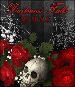 Darkness Falls Bundle 2D Graphics Sveva