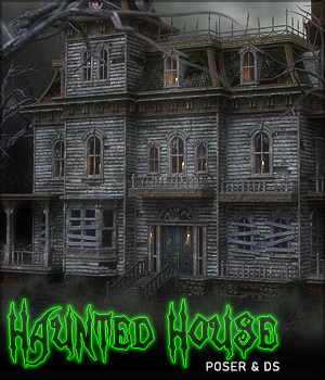 Haunted House Pro 3D Models Sveva