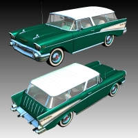 Chevrolet Nomad 1957 by Nationale7