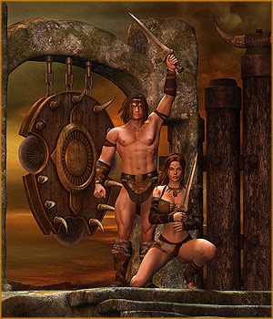 DM's Erogar 3D Figure Essentials 3D Models Danie