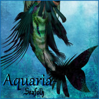 Aquaria- Seafolk Accessories Themed posermagic