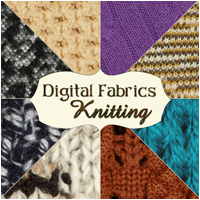 Digital Fabrics - Knitting 2D And/Or Merchant Resources Atenais