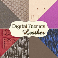 Digital Fabrics - Leather 2D And/Or Merchant Resources Atenais