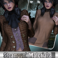 Steampunk III Materials 2D Graphics WhopperNnoonWalker-