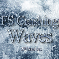 FS Crashing Waves Themed 2D And/Or Merchant Resources FrozenStar