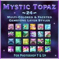 Mystic Topaz Layer Styles 2D And/Or Merchant Resources Themed fractalartist01