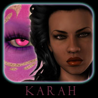 Karah Characters Themed reciecup
