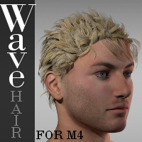Wave Hair for M4 Software Hair TruForm