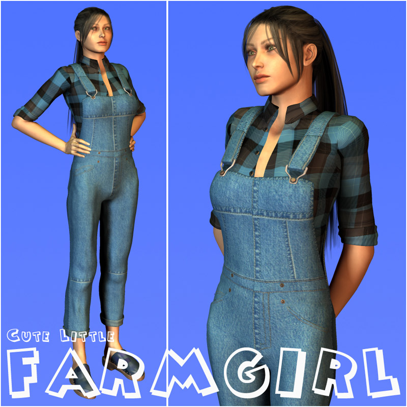 Cute Litttle FarmGirl