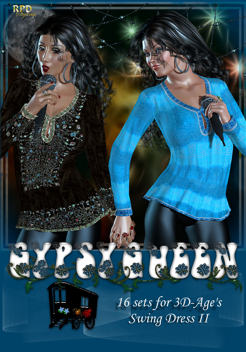 GypsyQueen - SwingDress-II