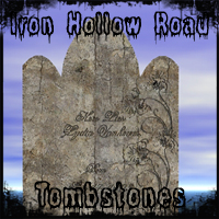 Iron Hollow Road Tombstones Themed Props/Scenes/Architecture Ravyns