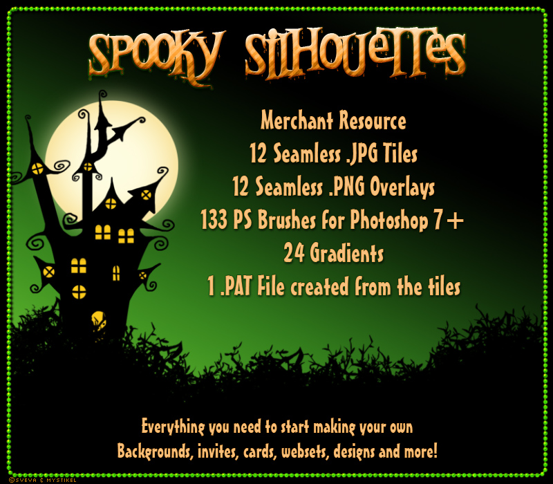 Merchant Resource: Spooky Silhouettes