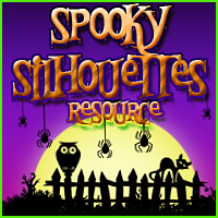 Merchant Resource: Spooky Silhouettes 2D Graphics Merchant Resources Sveva