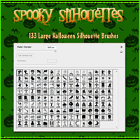 Merchant Resource: Spooky Silhouettes image 2