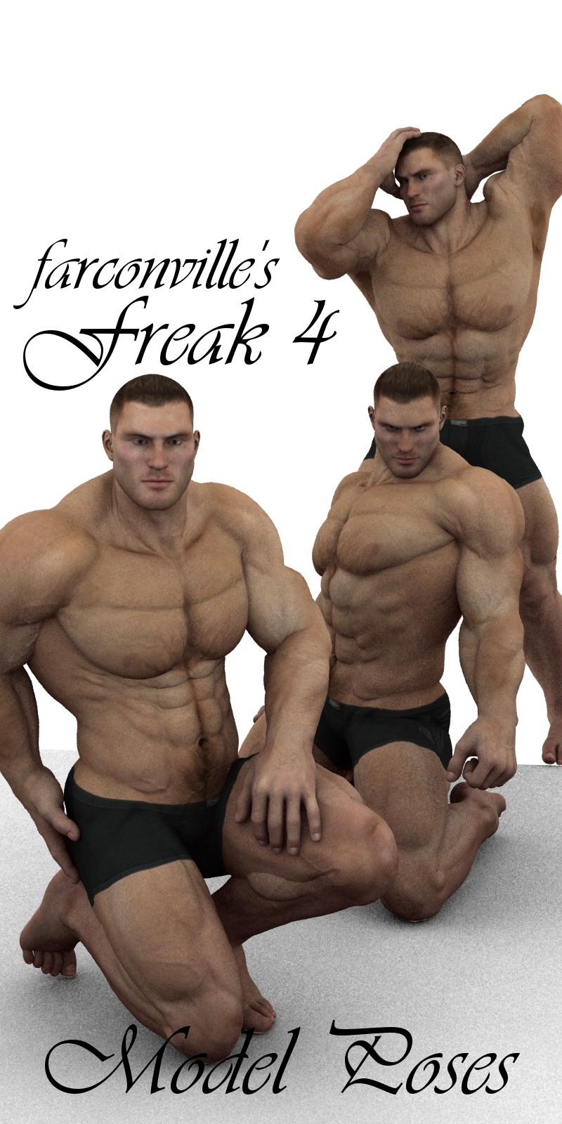 Farconville's Model Poses for Freak 4