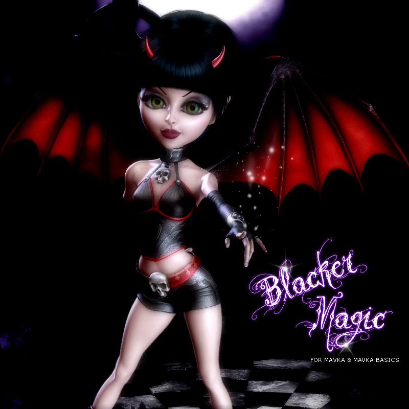 3DSV Blacker Magic Mavka