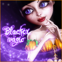 3DSV Blacker Magic Mavka 3D Figure Assets 2D Graphics 3DSublimeProductions