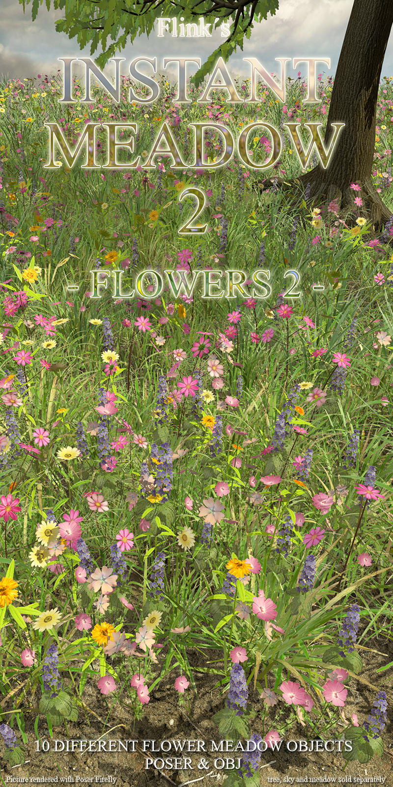Flinks Instant Meadow 2 - Flowers 2